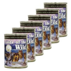 TASTE OF THE WILD Wetlands Canine - Dose, 6 x 374g