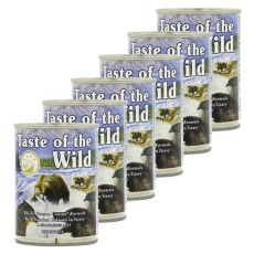 TASTE OF THE WILD Pacific Stream Canine - Dose, 6 x 390g
