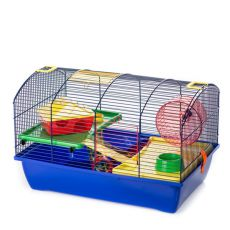Hamsterkäfig VICTOR II PLUS mit Ausstattung