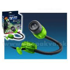 Hydor MULTI-LIGHT, LED weißes Licht - grüner Deckel