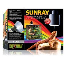 Metalldampflampe für Terrarium EXO TERRA SUNRAY - 50W