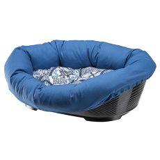Kunststoffbett für Hunde und Katzen SOFA 2 mit Bezug - 52 x 39 x 21 cm