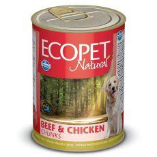 Farmina MO P ECOPET dog Bicolore Beef & Chicken Nassfutter 1250 g