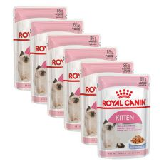 Royal Canin KITTEN Instinctive in Jelly 6 x 85 g - Stückchen in Gelee