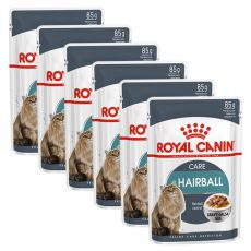 Royal Canin HAIRBALL CARE - in Soße 6 x 85g