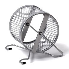 Laufrad für Nager - aus Metall, 12 cm