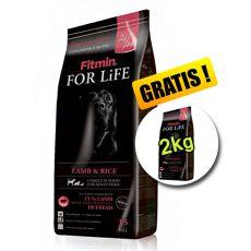 Fitmin FOR LIFE Adult Lamb & Rice 15+2 kg GRATIS