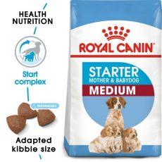 ROYAL CANIN MEDIUM STARTER Mother & Babydog - 4kg