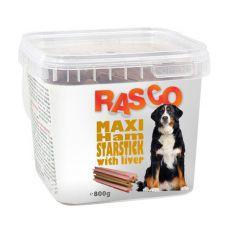 Hundesnack RASCO - maxi Schinken mit Leber, 800g
