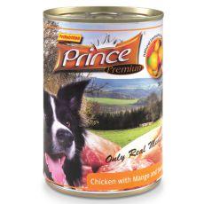 Feuchtnahrung PRINCE Premium – Huhn mit Mango und Süßkartoffeln 400g