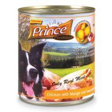 Feuchtnahrung PRINCE Premium – Huhn mit Mango und Süßkartoffeln 800g