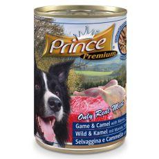 Feuchtnahrung PRINCE Premium – Wild, Kamel, Maniok, Karotte und Erbsen 400g