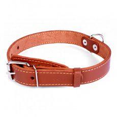 COLLAR Lederhalsband für Hund - 38 - 50cm, 25mm - braun
