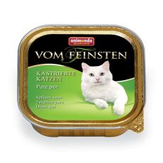 Animonda Vom Feinsten Castrated Cats - Pute pur 100g