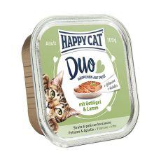 Happy Cat DUO MENU - Geflügel und Lamm, 100g