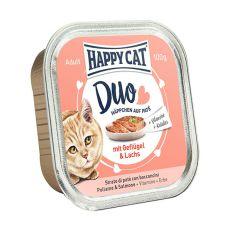 Happy Cat DUO MENU - Geflügel und Lachs, 100g