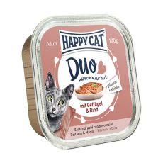 Happy Cat DUO MENU - Geflügel und Rind, 100g