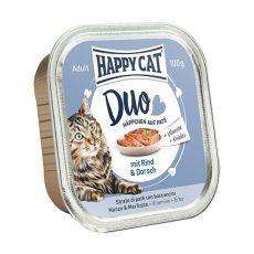 Happy Cat DUO MENU - Rind und Dorsch, 100g
