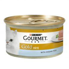 Nassfutter Gourmet GOLD - Pâté mit Thunfisch, 85g