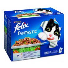 Felix Fantastic - Fleisch- und Fischvariationen mit Gemüse, 12x100g