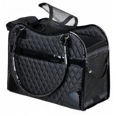 Tasche für Hund oder Katze Amina, schwarz - 18 x 29 x 37 cm