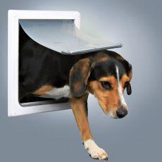 Freilauftür für Hunde 2-Wege, S - M, 30 x 36 cm
