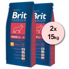 Brit Premium Senior Large 2 x 15kg