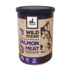 Feuchtnahrung Terra Natura Wild Ocean Salmon Meat 400g