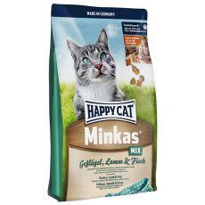 Happy Cat Minkas MIX - Geflügel, Lamm und Fisch - 4kg