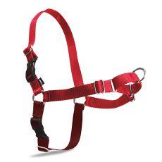 Geschirr gegen Ziehen EasyWalk Harness - S, rot