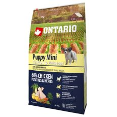ONTARIO Puppy Mini - chicken and potatoes 6,5kg