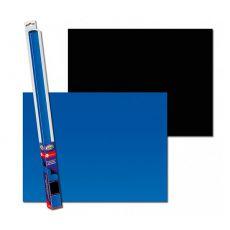 Hintergrund für Aquarien BLACK/BLUE S - 60 x 30cm