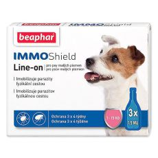 "BEAPHAR IMMO SHIELD HUND ""S"" 3 x 1,5ml"