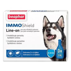 "BEAPHAR IMMO SHIELD HUND ""M"" 3 x 3ml"