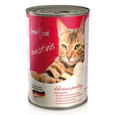 Nassfutter BEWI CAT Meatinis GEFLÜGEL, 400g