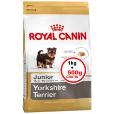 ROYAL CANIN YORKSHIRE JUNIOR 1kg + 0,5 kg GRATIS