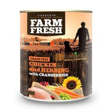 Farm Fresh - Chicken and Herring with Cranberries 800g