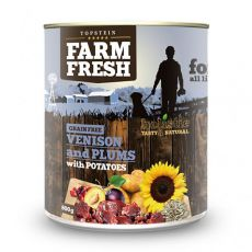 Farm Fresh - Venison and Plums with Potatoes 800g