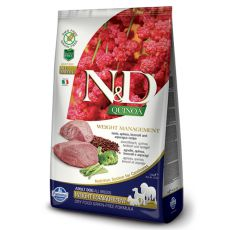 Farmina N&D dog GF QUINOA Weight Management Lamb 7 kg