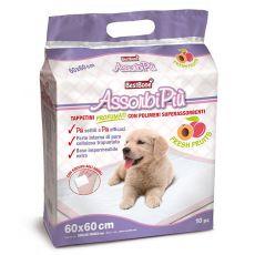 Hygienische Unterlagen mit Obst-Duft für Hunde 60 x 60 cm, 10 Stck