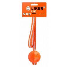 Hundespielzeug LIKER Line mit Schnur 5cm