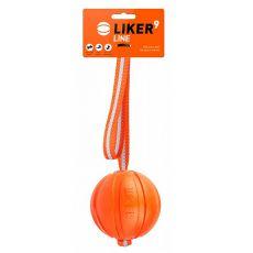 Hundespielzeug LIKER Line mit Schnur 9cm