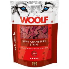 WOOLF Soft Cranberry Strips 100g