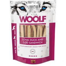 WOOLF Long Duck and Cod Sandwich 100g
