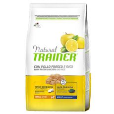 Trainer Natural Small and Toy Adult, Huhn und Reis 7kg