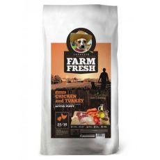 Farm Fresh Chicken and Turkey Active/Puppy GF 2kg
