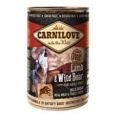 BRIT Carnilove Wild Meat Lamb & Wild Boar 400g