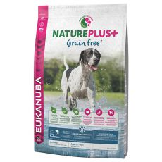 Eukanuba Nature Plus+ Adult Grain Free Salmon 2,3kg