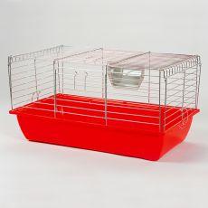 Käfig für Kaninchen und Meerschweinchen - Rabbit 70 chrom