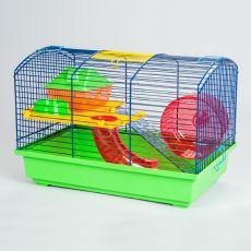 Käfig für Hamster VICTOR I mit Tunnel